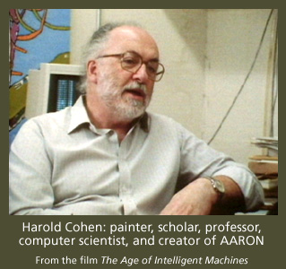 Harld Cohen, creator of AARON
